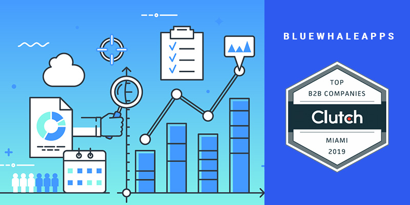 Blue Whale Apps Recognized as a Market Leader for App Development by Clutch