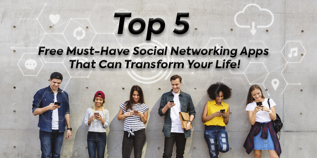 Top-5-social-networking-apps