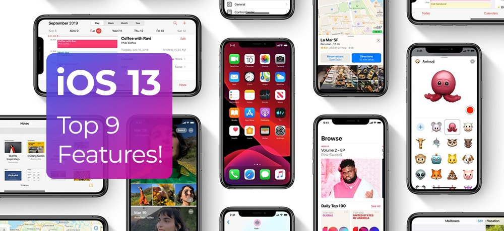 top-features-of-ios13